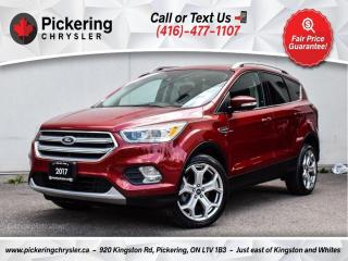 Used 2017 Ford Escape Titanium - Pano Roof/NAV/Leather/Heated Seats for sale in Pickering, ON