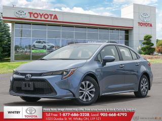 New 2020 Toyota Corolla Hybrid Hybrid for sale in Whitby, ON