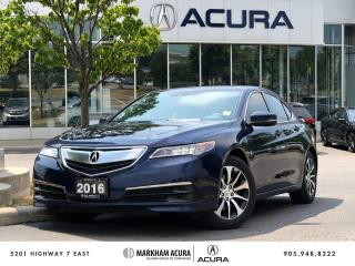 Used 2016 Acura TLX 2.4L P-AWS w/Tech Pkg for sale in Markham, ON