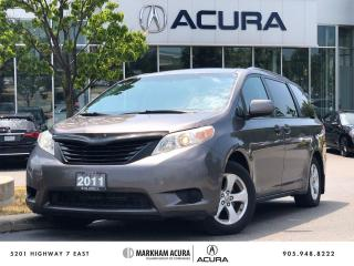 Used 2011 Toyota Sienna 7-Pass 6A for sale in Markham, ON