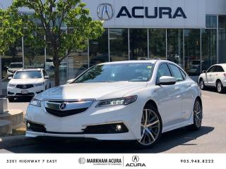 Used 2016 Acura TLX 3.5L SH-AWD w/Elite Pkg for sale in Markham, ON