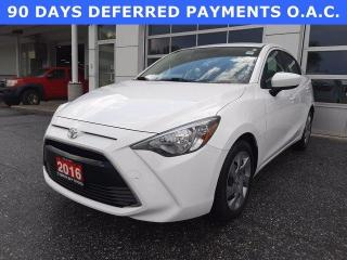 Used 2016 Toyota Yaris 4dr Sdn Auto Premium for sale in North Bay, ON