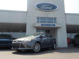 Used 2012 Ford Focus Titanium for sale in Mount Brydges, ON