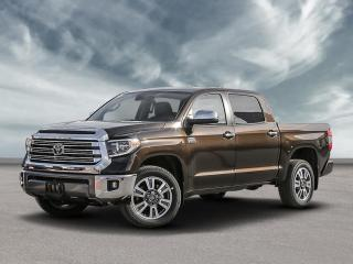 New 2020 Toyota Tundra 4x4 Crewmax Platinum for sale in North Bay, ON