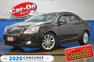 Used 2014 Buick Verano Leather Package NAV SUNROOF REAR CAM HTD SEATS for sale in Ottawa, ON
