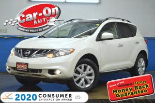 Used 2012 Nissan Murano SV V6 AWD PANO ROOF REAR CAM HTD SEATS LOADED for sale in Ottawa, ON