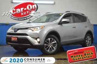 Used 2017 Toyota RAV4 Hybrid LE+ AWD REAR CAM HTD SEATS ADAPTIVE CRUISE for sale in Ottawa, ON
