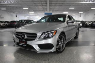 Used 2016 Mercedes-Benz C-Class C300 4MATIC I A.M.G I NAVIGATION I PANOROOF I REAR CAM for sale in Mississauga, ON