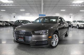 Used 2017 Audi A4 QUATTRO I SUNROOF I LEATHER I HEATED SEATS I PUSH START for sale in Mississauga, ON