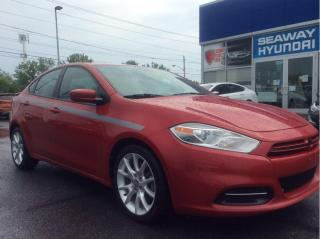 Used 2013 Dodge Dart SXT - Automatic - Cruise Control - Local Trade for sale in Cornwall, ON