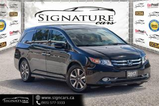 Used 2017 Honda Odyssey Touring .ONE OWNER,CLEAN CARFAX ! NEW BRAKES /NEW  TIRES for sale in Mississauga, ON