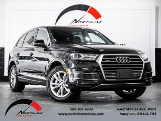 Used 2017 Audi Q7 3.0T Progressiv|7 Passenger|Navigation|360 Camera|Pano Roof for sale in Vaughan, ON