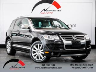 Used 2009 Volkswagen Touareg VR6|R-Line|Navigation|Camera|Heated Leather|Sunroof for sale in Vaughan, ON