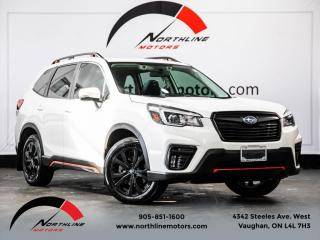 Used 2019 Subaru Forester 2.5i Sport|EyeSight Pkg|Pano Roof|Blindspot|Adaptive Cruise for sale in Vaughan, ON
