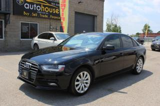 Used 2013 Audi A4 MANUAL,AWD,LEATHER,SUNROOF for sale in Newmarket, ON