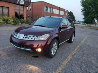 Used 2007 Nissan Murano AWD SL|BACK UP CAM|SUN ROOF for sale in Richmond Hill, ON