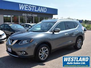 Used 2015 Nissan Rogue SL AWD for sale in Pembroke, ON