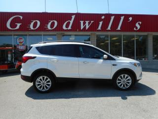 Used 2019 Ford Escape SEL! CLEAN CARPROOF! HEATED LEATHER! REMOTE START! for sale in Aylmer, ON