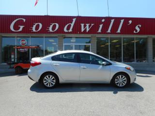 Used 2015 Kia Forte LX+! HEATED SEATS! BLUETOOTH! for sale in Aylmer, ON