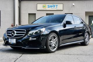 Used 2014 MERCEDES BENZ E CLASS E550 4MATIC PREMIUM 1 PKG, KEYLESS GO PKG, CARFAX CLEAN for sale in Burlington, ON