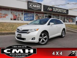 Used 2016 Toyota Venza AWD  AWD PARK-ASSIST CAM P/SEAT P/GATE BT HS for sale in St. Catharines, ON