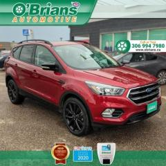 Used 2019 Ford Escape Titanium w/Mfg Warranty, 4WD, Leather, Nav, Backup Camera, Heate for sale in Saskatoon, SK