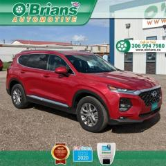 Used 2020 Hyundai Santa Fe Essential w/Mfg Warranty, AWD, Backup Camera, Heated Seats and Steering Wheel for sale in Saskatoon, SK