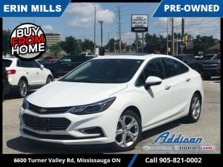 Used 2017 Chevrolet Cruze Premier  NAVI|LEATHER|SUNROOF|LOW KM| for sale in Mississauga, ON