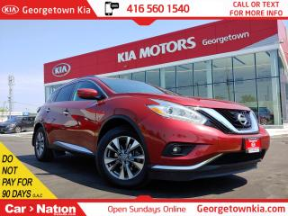 Used 2016 Nissan Murano SV | AWD | ROOF | P/GATE | BU CAM | CLEAN CARFAX | for sale in Georgetown, ON