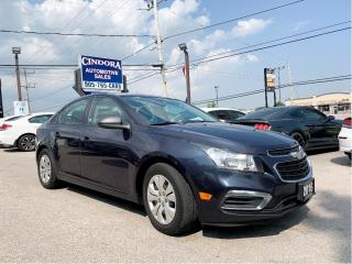Used 2016 Chevrolet Cruze LS | 6 speed, Cloth, Bluetooh for sale in Caledonia, ON