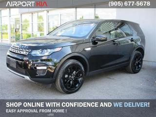 Used 2017 Land Rover Discovery Sport HSE/Leather/Nav/Panoramic Sunroof/Camera/Blind Spot/lane departure warning for sale in Mississauga, ON