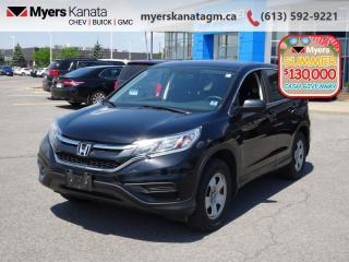 Used 2015 Honda CR-V LX  - Bluetooth -  Heated Seats for sale in Kanata, ON