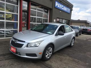 Used 2013 Chevrolet Cruze LS for sale in Kitchener, ON