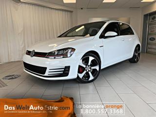 Used 2016 Volkswagen Golf GTI Autobahn, Cuir, Toit, Automatique Bas Kilo for sale in Sherbrooke, QC