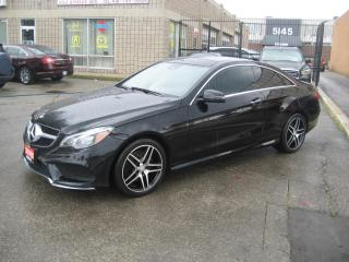 Used 2016 Mercedes-Benz E-Class 2dr Cpe E 400 4MATIC NIGHT PKG AMG PACKAGE for sale in North York, ON