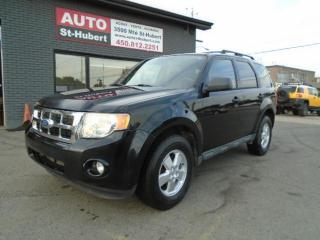 Used 2010 Ford Escape FORD ESCAPE XLT 2010 MANUELLE for sale in St-Hubert, QC