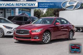 Used 2014 Infiniti Q50 Premium AWD**NAVIGATION, TOIT OUVRANT, CUIR** for sale in Repentigny, QC