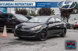 Used 2013 Hyundai Accent 4 PORTES GL**A/C, GROUPE ÉLECTRIQUE, ** for sale in Repentigny, QC