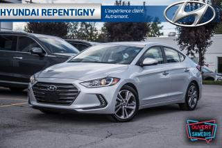 Used 2017 Hyundai Elantra LIMITED NAVIGATION**A/C, CUIR, MAGS, TOIT OUVRANT* for sale in Repentigny, QC