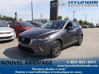 Used 2017 Mazda CX-3 GS+AWD+CAMERA+DEMARREUR+BANCS CHAUFF for sale in Sherbrooke, QC