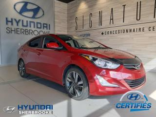 Used 2015 Hyundai Elantra GLS+CAMERA+TOIT+BANCS CHAUFF+DEMARREUR for sale in Sherbrooke, QC