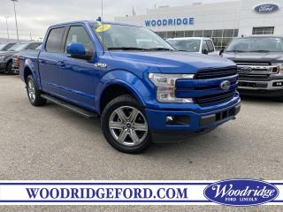 Used 2018 Ford F-150 Lariat 2.7L, NAVIGATION, LEATHER SEATS, REMOTE START, SPORT, NO ACCIDENTS. for sale in Calgary, AB