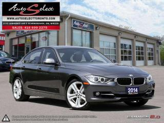 Used 2014 BMW 328i xDrive AWD ONLY 134K! **TECHNOLOGY PKG** CLEAN CARPROOF for sale in Scarborough, ON