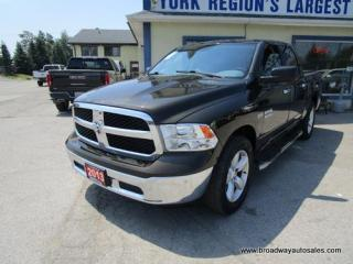 Used 2013 Dodge Ram 1500 WORK READY SLT EDITION 6 PASSENGER 5.7L - HEMI.. 4X4.. CREW-CAB.. SHORTY.. TOW SUPPORT.. KEYLESS ENTRY.. AUX/USB INPUT.. for sale in Bradford, ON