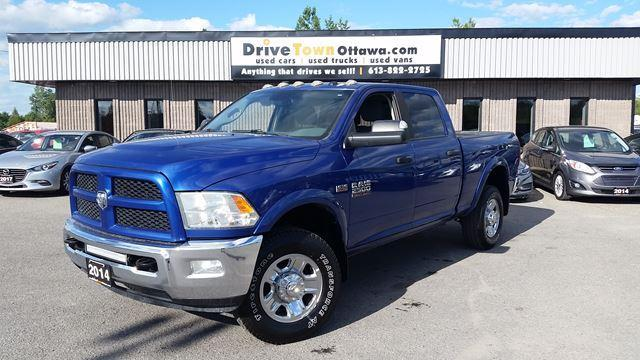 2014 RAM 2500 OUTDOORSMAN CREW CAB 4X4 **6.4L HEMI POWER**