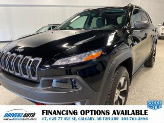 Used 2018 Jeep Cherokee Trailhawk for sale in Calgary, AB