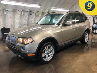 Used 2008 BMW X3 AS IS SPECIAL******** AWD 4dr 3.0i * Double power sunroof * Leather interior * Park assist * Downhill assist * Heated front seats * Fog lights * for sale in Cambridge, ON