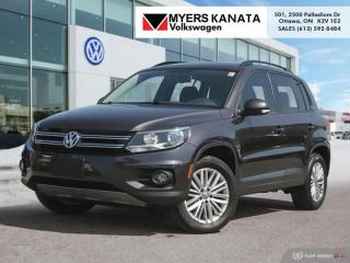 Used 2016 Volkswagen Tiguan Special Edition  - Heated Seats for sale in Kanata, ON