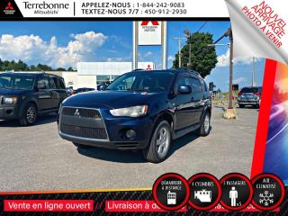 Used 2010 Mitsubishi Outlander ES for sale in Terrebonne, QC