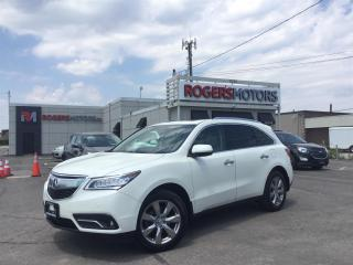 Used 2016 Acura MDX 2.99% Financing - ELITE SH AWD - NAVI - DVD - SUNROOF - 360 CAMERA for sale in Oakville, ON